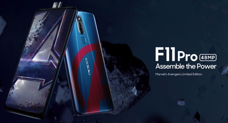 Oppo F11 Pro Avengers Limited Edition for only P19,990.00 in Lazada!